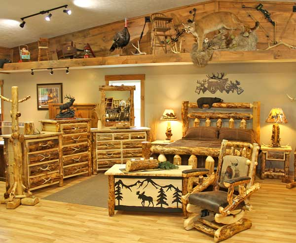 Millers Rustic Furniture Bedroom Suite. Miller s Rustic Furniture   Rustic Log Furniture   Ohio